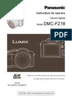 Manual de Utilizare Panasonic FZ18