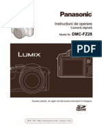 Manual de Utilizare Panasonic FZ28