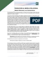 Lectura 1 - Origen del Modelo Relacional y sus Características CORREGIDO