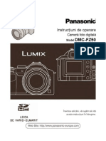 Manual de Utilizare Panasonic FZ50