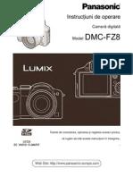 Manual de Utilizare Panasonic FZ8