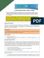 Actividad de Aprendizaje - Salud y Trabajo Act 1