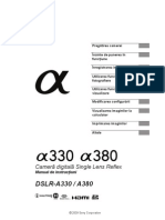 Manual de Utilizare Sony A330-A380