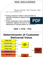 Customer Deliver Value