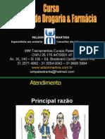 Curso Atendente de Farmcias e Drogarias