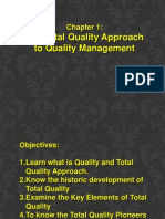 The Total Quality Approach to Quality Management