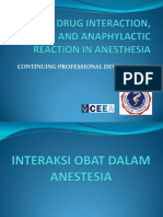 Arif Marsaban Drug Interaction, Adverse and Anaphylactic Reaction