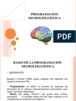 BASES DE LA PROGRAMACION NEUROLINGUÍSTICA
