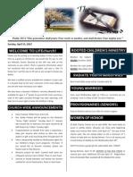 LIFEchurch Bulletin- 4/15/2012