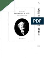 Curso de Eletrodinamica de Weber