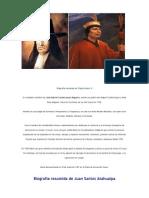 Biografía resumida de Túpac Amaru II