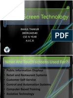 21138453 Touch Screen Technology