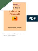 13982-ANAIS BENOIT-Le Secret de Lhumanite-[InLibroVeritas.net]