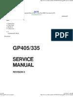 Canon Gp405 m Service Manual