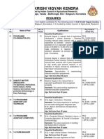 Www.klesociety.org Recruitment 2012 KLE Krishi Vigyan Kendra Subject Matter Specialist, Lab Tech