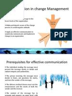 Question | Change Management | Communication