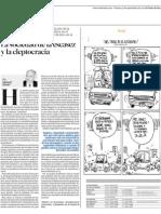 La Sociedad de La Escasez y La Cleptocracia Por Manuel Enrique Hinds
