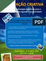 cartaz duplicação poa