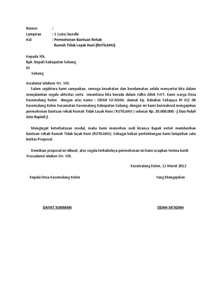 Copy Of Proposal Rutilahu