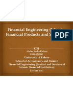 Lecture No.01 Introduction Financial_Engineering