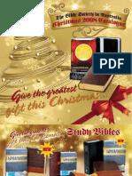 Bible Society Christmas 2008 Catalogue