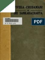 Vivekachudamani - Adi Shankaracharya