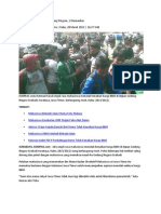 Demo Mahasiswa Ricuh