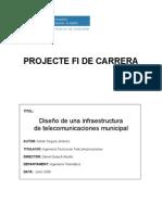 Diseño de una infraestructura de Telecomunicaciones Municipal