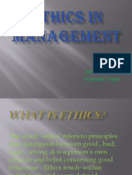 Ethics in Management (Rajendra)