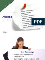 Good Presentation Steps to Be Followed