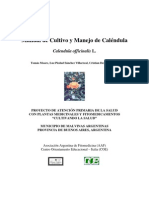 Manual de Cultivo Para Calendula Officinalis