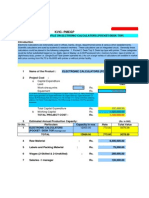 Project Profile on Elctronic Calculators (Pocketdesk Top)