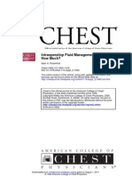 Fluids in Chest