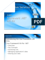 4 LiveFX Framework .NET API Kit