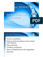5 Mesh Enabled Web Applications