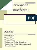 Data models and management