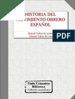 Nuñez Manuel - Historia Del Movimiento Obrero Español