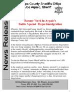 Banner Week of Arrests