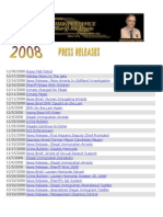 2008 MCSO Press Releases