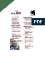 El Bulli - La Cocina Facil de Ferran Adria