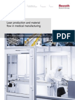 Lean Production and Material Flow in Medical Manufacturing