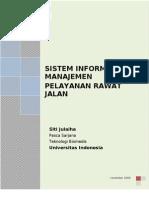- Sistem Manajemen Rawat Jalan Rumah Sakit Indonesia