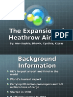 The Expansion of Heathrow Airport