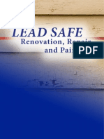 Steps to LEAD SAFE Renovation Repair and Painting