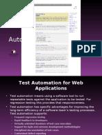TestAutomationTool Selenium