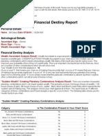 My Financial Destiny Report