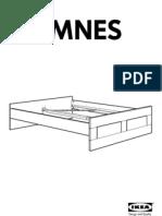 Brimnes Bed Frame 140x200 Cm F3MF02 PUB