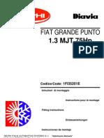 Manuale (006) Fiat Grande Punto 1.3 Mjt