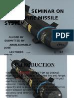 Seminar on Hellfire Missile