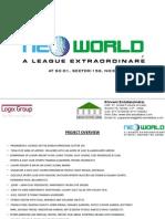 Logix Neo World, Sector-150, Noida ---Shivani Estates(India) 9717370634